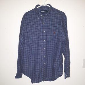 Ralph Lauren classic fit button down shirt.(BXC3)
